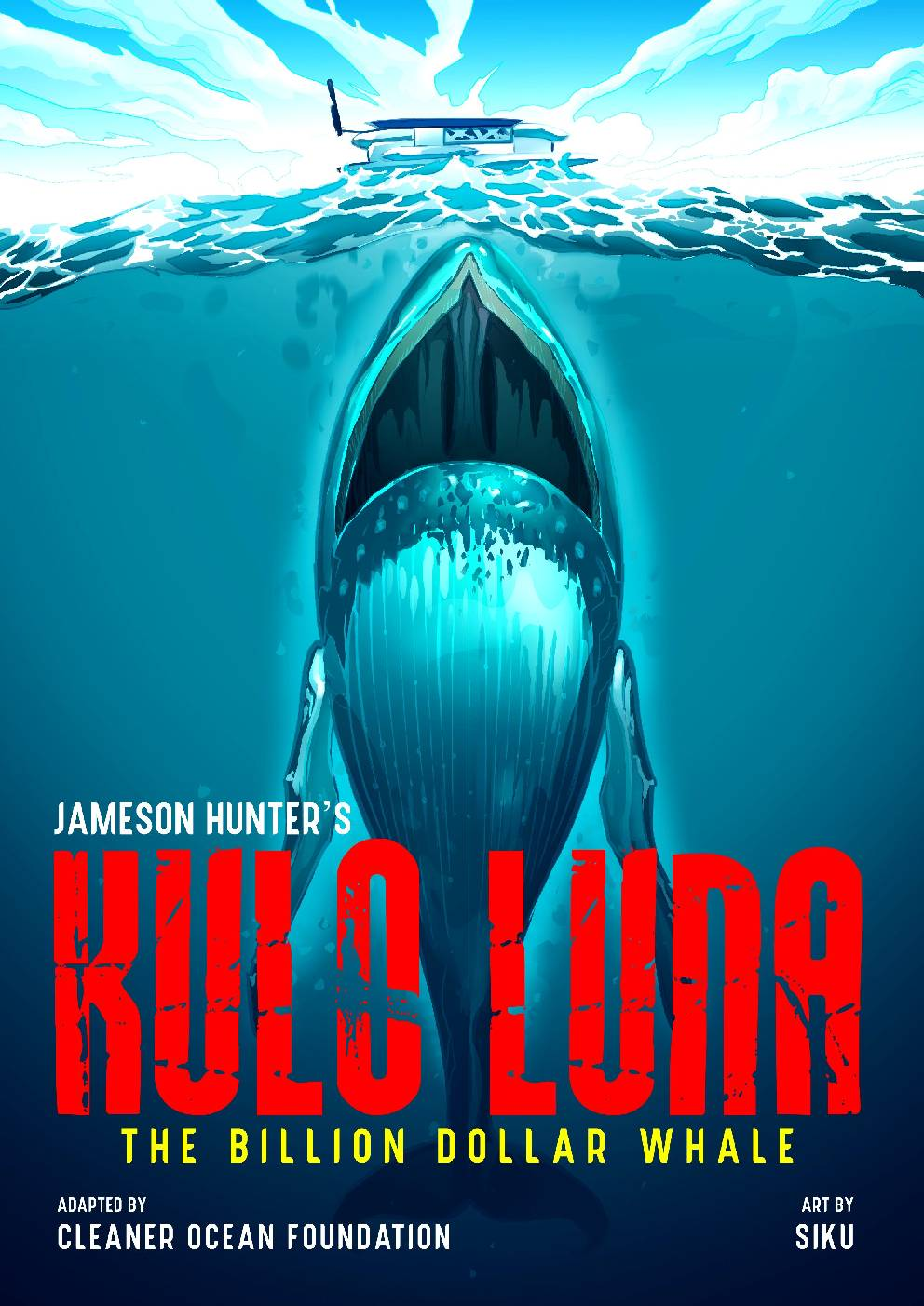Kulo Luna is a humpback whale fighting for survival in unfriendly waters